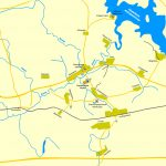 Общая карта-схема Бородинского поля