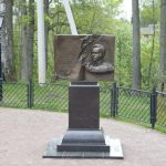 Памятный знак Денису Давыдову на месте усадьбы его деда