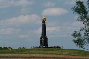 Главный монумент-часовня на батарее Раевского