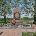 В деревне Горки у памятника М.И.Кутузову